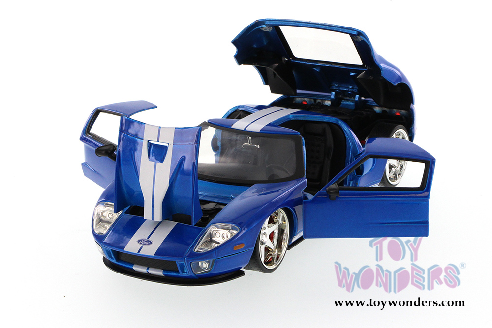 Jada Toys Fast Furious Ford Gt Hardtop   Scalecast Model