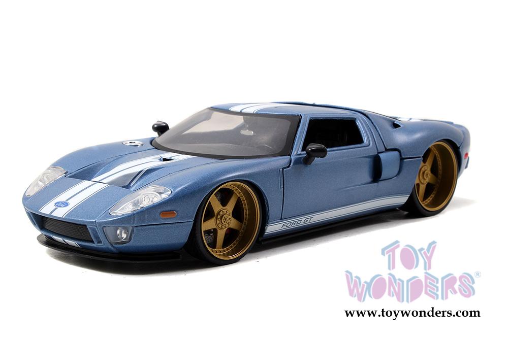 Jada Toys Bigtime Kustoms Ford Gt Hardtop  Scalecast
