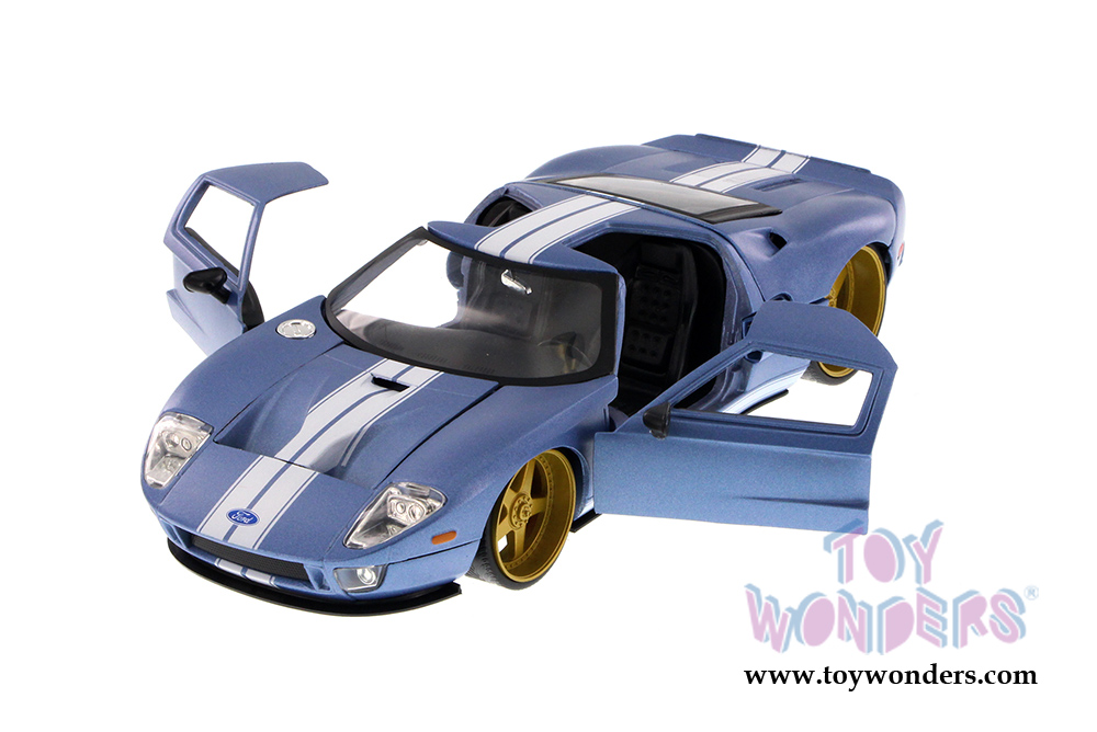 Jada Toys Big Time Kustoms Ford Gt Hardtop  Scale