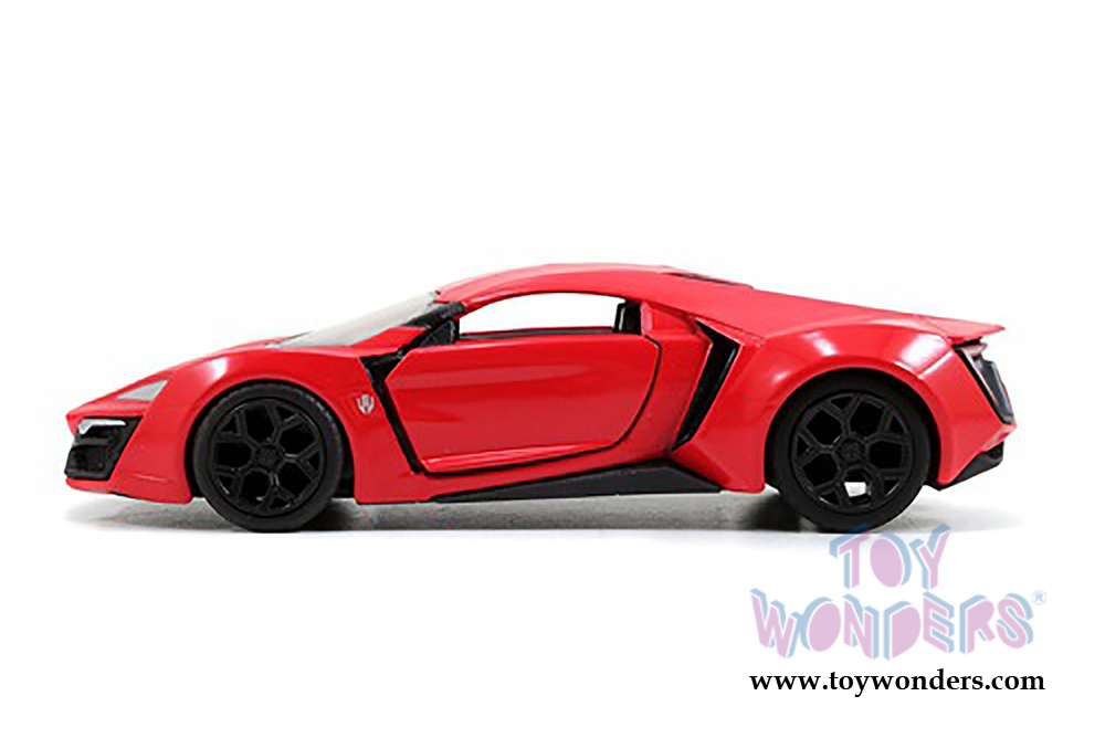 Lykan Hypersport Top View >> Jada Toys Fast Furious Lykan Hypersport Hard Top 97386 1 32