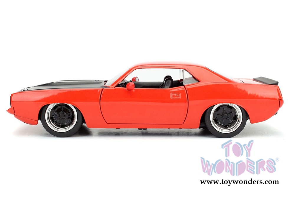 Popular Toys In 1973 : Jada toys bigtime muscles plymouth barracuda hard