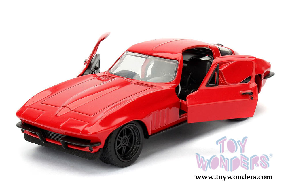 jada toys fast furious letty 39 s chevrolet corvette f8 the fate of the furious movie 2017. Black Bedroom Furniture Sets. Home Design Ideas