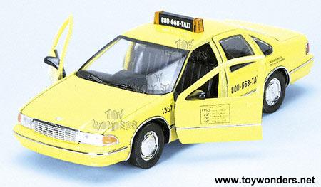 1996 chevrolet Custom Caprice Taxi by Superior 1/24 scale