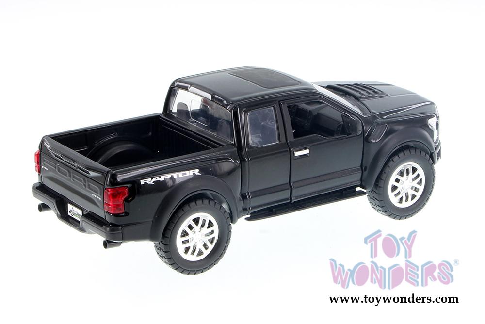 2017 ford f 150 raptor pickup truck by jada toys just trucks 1 24 scale diecast model car. Black Bedroom Furniture Sets. Home Design Ideas