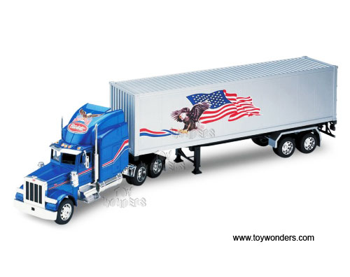 Toy Trucks: Peterbilt Toy Trucks And Trailers