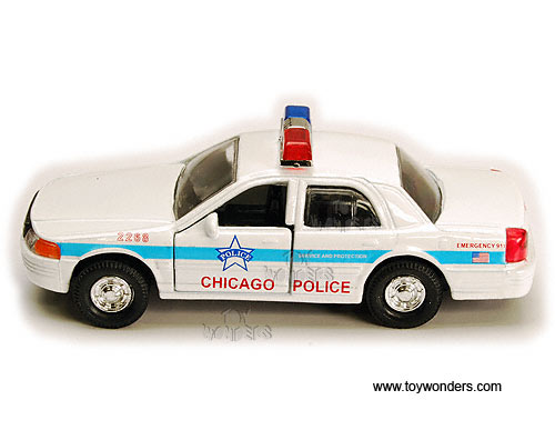 Toy Police Cars : Toy diecast chicago police car cg wholesale