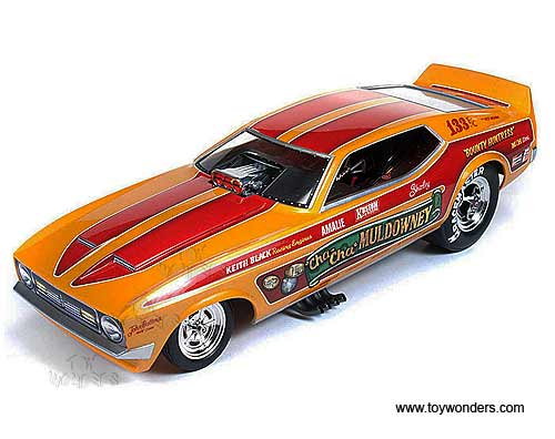 1972 cha cha muldowney ford mustang nhra funny car aw1113 1 18 scale auto world legends. Black Bedroom Furniture Sets. Home Design Ideas