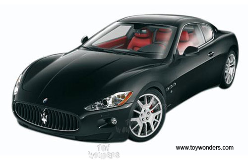 Maserati+granturismo+black