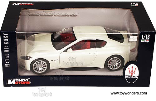 Mondo Motors Maserati Gran Turismo Hard Top 118 Cream Mo50041