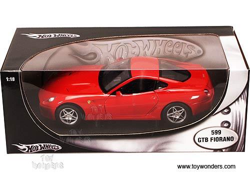 Ferrari 599 Gtb Fiorano Red Race /& Play In Blister Con Accessori 1:43 Model