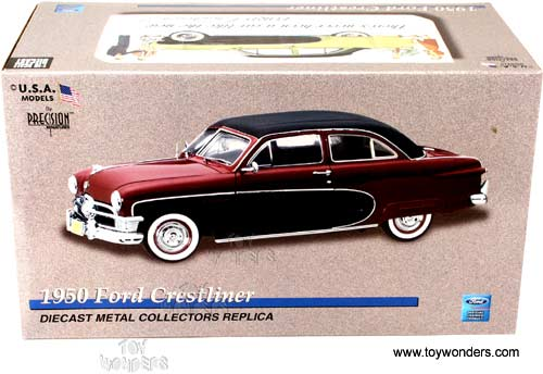 Precision Miniatures - Ford Crestliner Hard Top (1950, 1:18, Red) PMUS02
