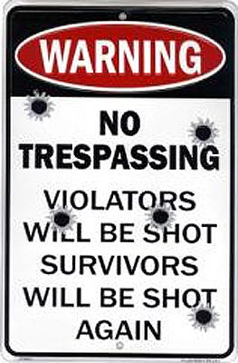 Trespassing By Police In Private Property