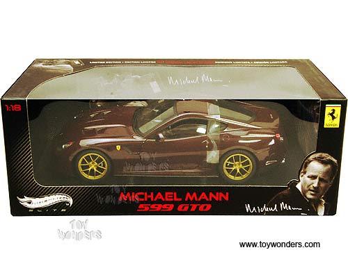 Ferrari 599 Gto Hard Top Michael Mann By Mattel Hot Wheels