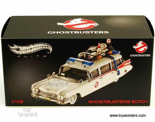 ghostbusters Ecto 1 Ambulance by Mattel Hot Wheels Elite 1