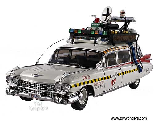 ghostbusters ecto 1a ambulance by mattel hot wheels elite. Black Bedroom Furniture Sets. Home Design Ideas