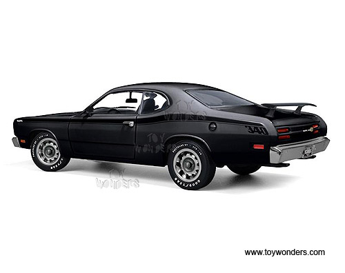 1971 plymouth duster 340 hard top by auto world ertl elite 1 18 scale diecast model car. Black Bedroom Furniture Sets. Home Design Ideas