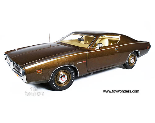 1971 Dodge Charger 500 Hard Top By Auto World Ertl