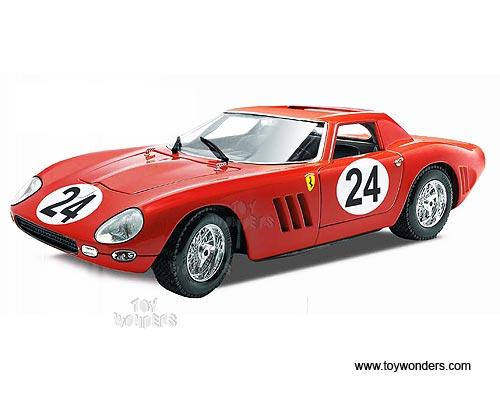 Guiloy - Ferrari 250 GTO #24 Le Mans 24 Hours (1964, 1:18, Red) GU67505