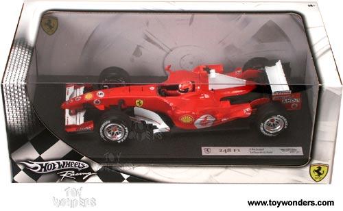 2006 Ferrari 248 F1 W Driver Michael Schumacher By Mattel Hot