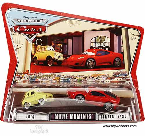 Mattel Disney Pixar The World Of Cars Movie Moments Assortment D