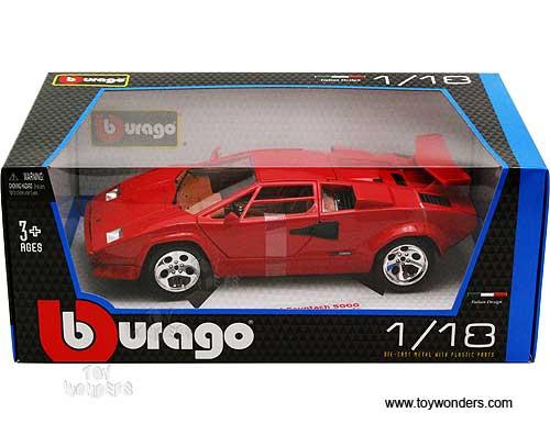 Bburago Lamborghini Countach 5000 Quattrovalvole Hard Top 1 18