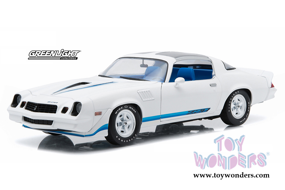 1979 Chevy Camaro Z28 T Top 12903 118 Scale Greenlight