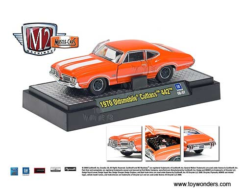 muscle Cars Release 2 by Castline M2 Machines 1/64 scale ...