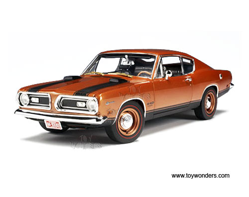 1969 plymouth Barracuda 440 Hard Top by Highway 61 1/18