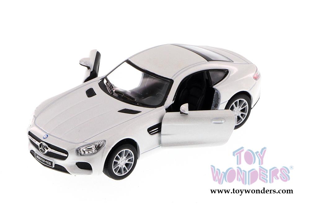 Mercedes AMG GT Kinsmart Diecast 1:36 Scale White