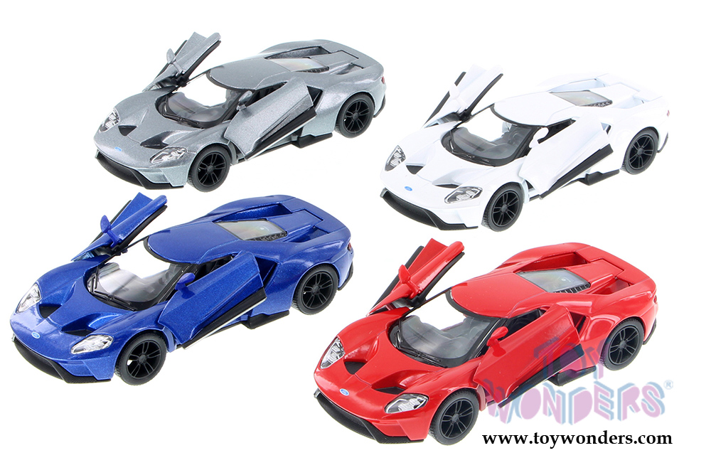 Kinsmart Ford Gt Hard Top 2017 1 38 Scale Cast Model Car