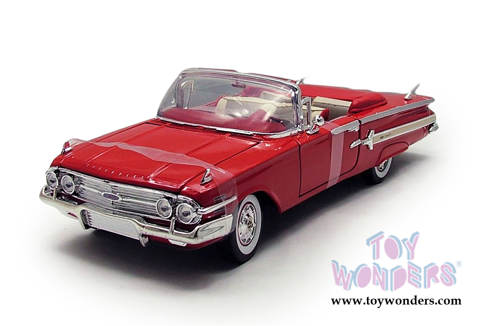 1960 chevy impala convertible by motormax timeless. Black Bedroom Furniture Sets. Home Design Ideas