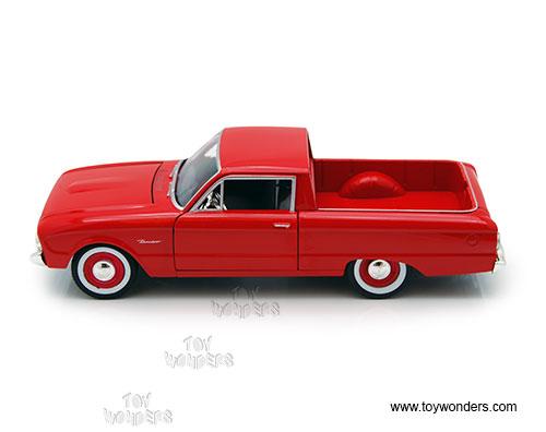 Generation 1973-1980 1//24 Motormax Modell Auto Ford F-150 Custom Blau Pick-Up 6