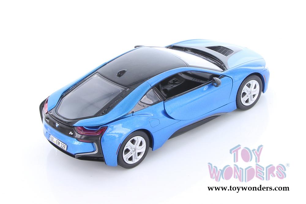 XENON MOTORMAX 1:24 INKL.WUNSCHKENNZEICHEN BMW i8 COUPE MIT LED-BELEUCHTUNG