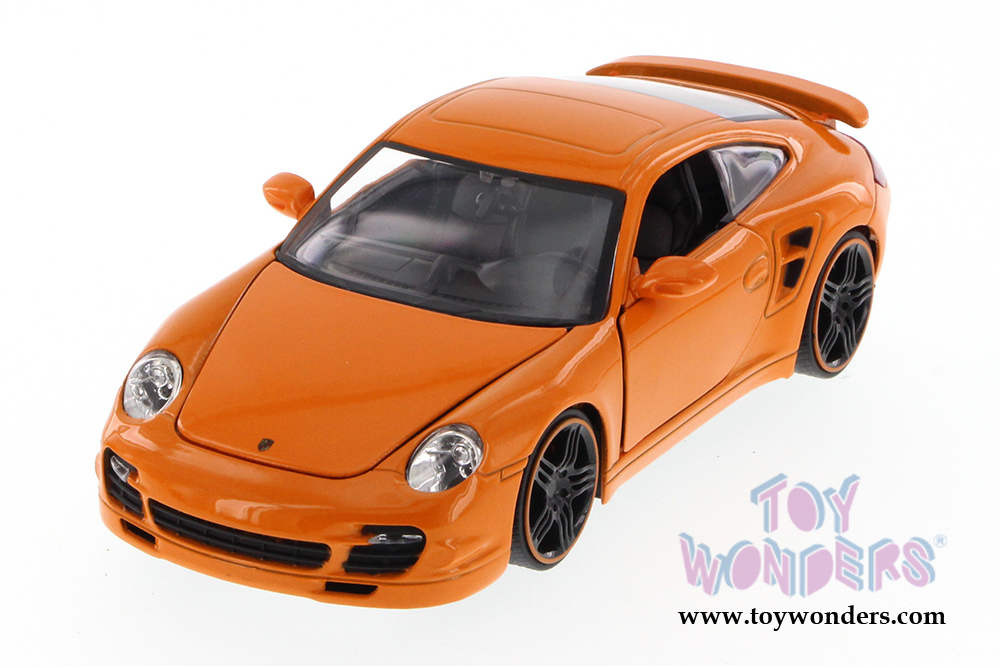 Porsche 911 Turbo Hard Top 91852ue 1 24 Scale Jada Toys Bigtime