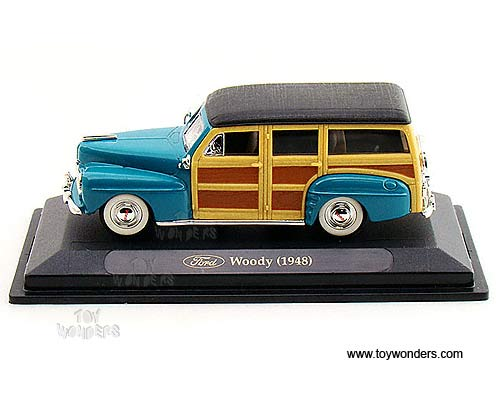 Ford Woody 1948 Turquoise 1:43 Model LUCKY DIE CAST