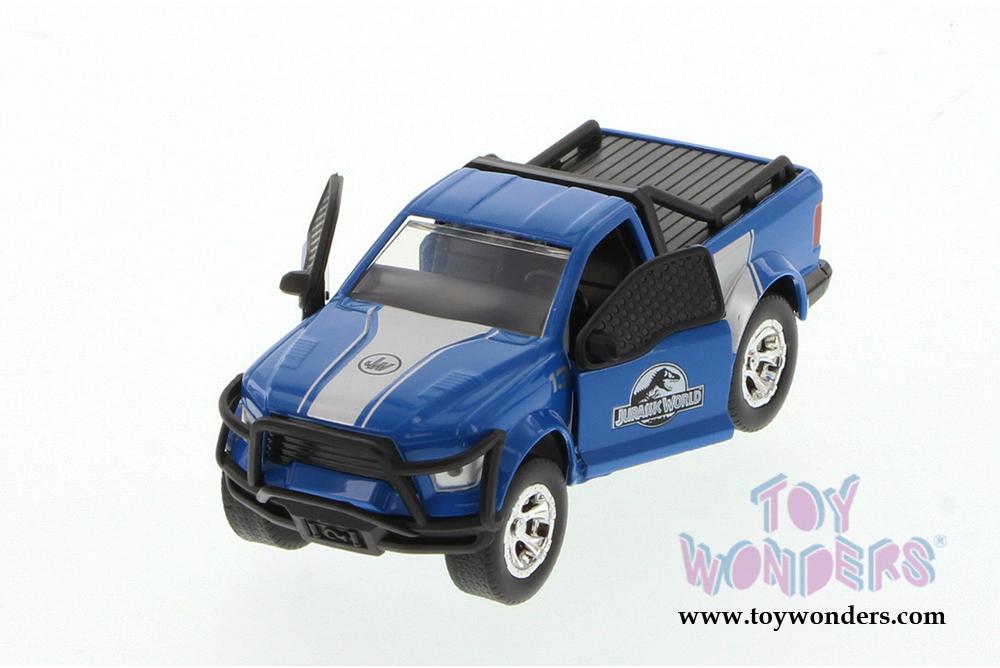 Ford F-150 Rescue Truck blue Jurassic World 1:43 Jada Toys 24038 Rettungswagen