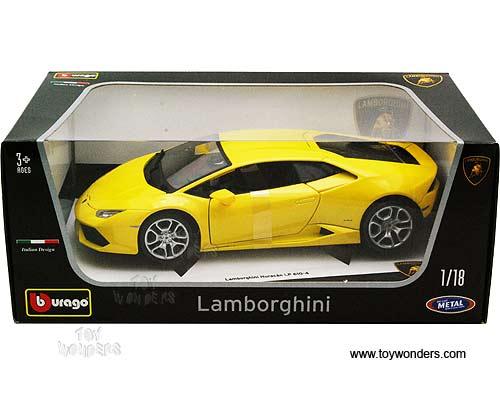 Lamborghini Huracan Lp 640 4 Hard Top 11038yl 1 18 Scale Bburago