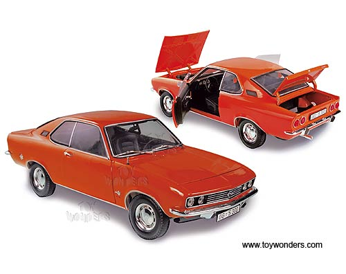 Opel Manta A Ziegel Rot Coupe 1970-1975 1//18 Norev Modell Auto mit oder ohne ind