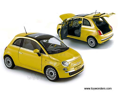 Fiat 500 Lounge Hard Top W Sunroof 187741 1 18 Scale Norev