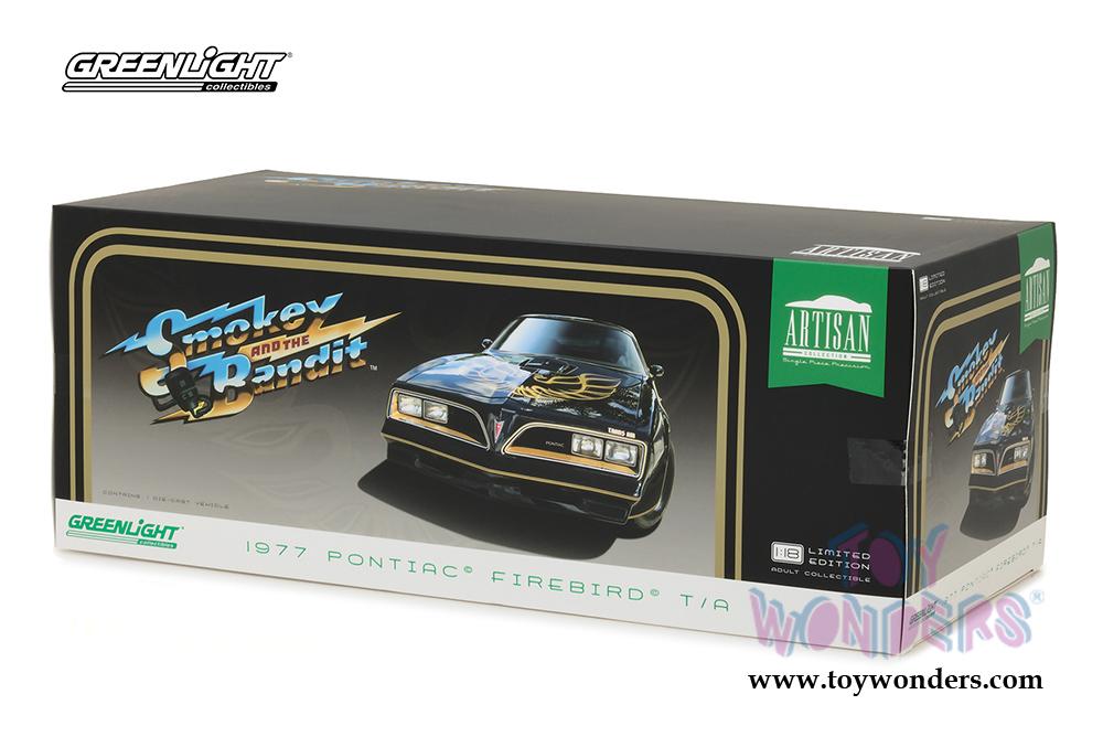 1977 PONTIAC FIREBIRD TRANS AM T-TOP GREENLIGHT 19025 1//18 DIECAST CAR