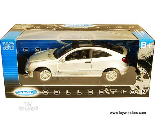Mercedes-Benz C-Class Sports Coupe w/ SunRoof 19860BK 1/18 scale Welly wholesale diecast model car