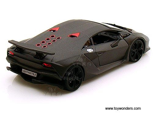 Lamborghini Sesto Elemento Hard Top 21061gy 1 24 Scale Bburago