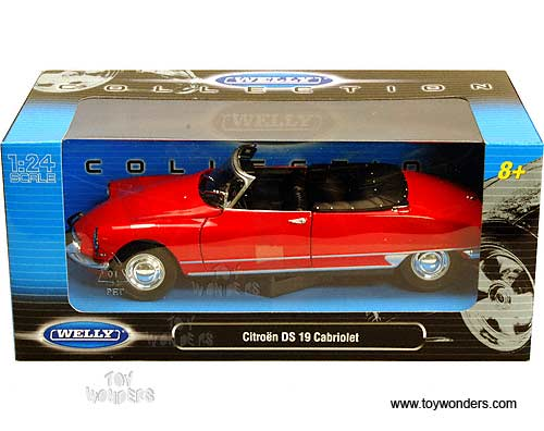 Citroen ds 19 cabriolet welly 1//38 ° new in box