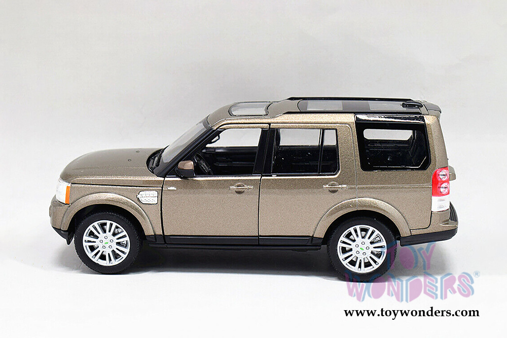 Land Rover Discovery 4 2010 schwarz Modellauto 1:24 Welly