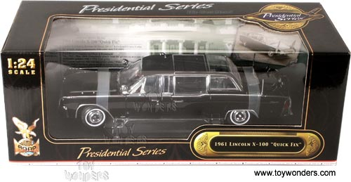 1961 lincoln x 100 quick fix by yatming 1 24 scale diecast model car wholesale 24078bk. Black Bedroom Furniture Sets. Home Design Ideas