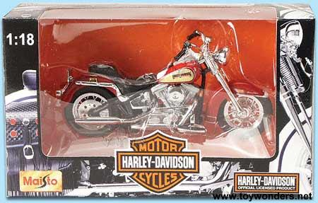 Harley Davidson Motorcycles Toy Diecast Cars Series 5 By Maisto 1 18