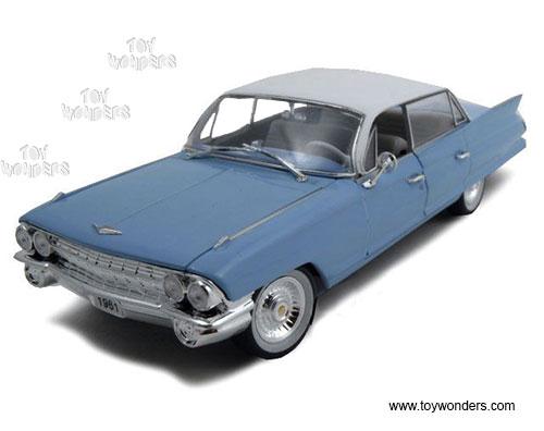 1:32 Scale Powder Blue 1961 Cadillac Sedan DeVille Diecast Model Car