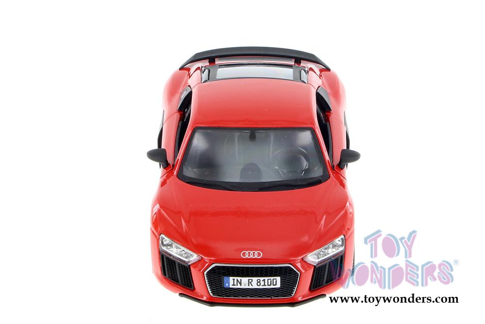 Maisto Audi R8 V10 Plus 1:24 Diecast Model Car 34513 Red