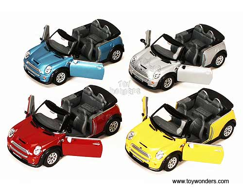 Mini Cooper S Convertible 5089d 1 28 Scale Kinsmart Whole Cast Model Toy Car