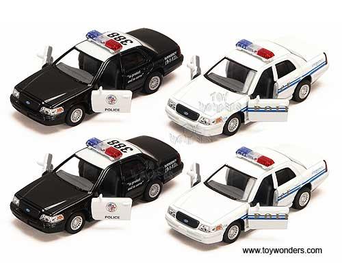 Ford Crown Victoria Police Interceptor 1//42 Scale Diecast Metal Model BLACK